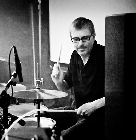 Paul on drums