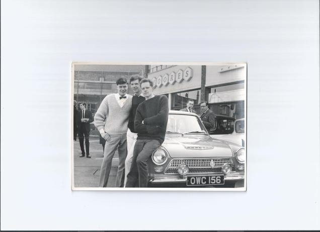Cortina 1200 - on loan from Ford